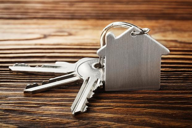 Keys with home key chain for Mortgage Loans